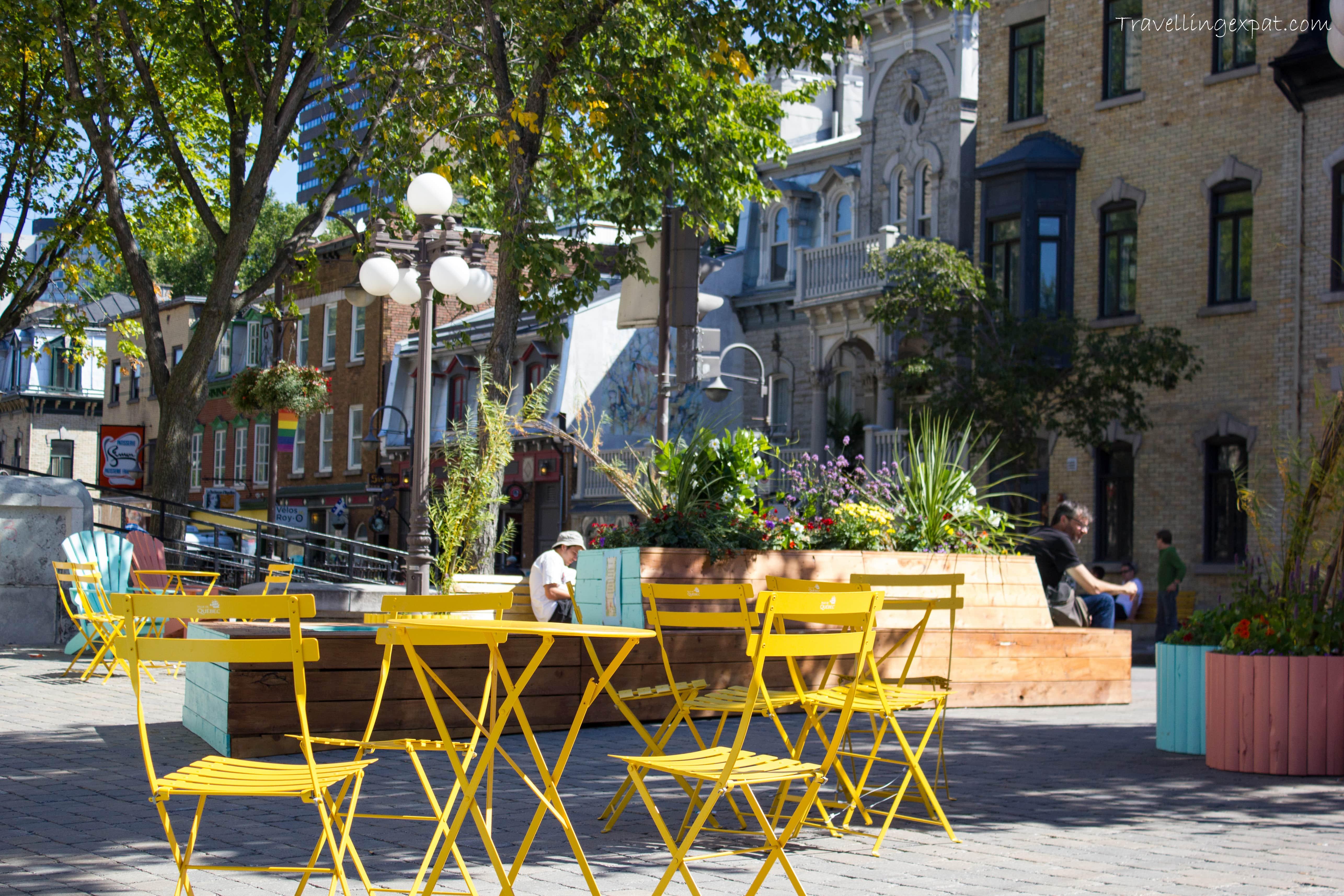 Quartieri dai colori vivaci in Québec