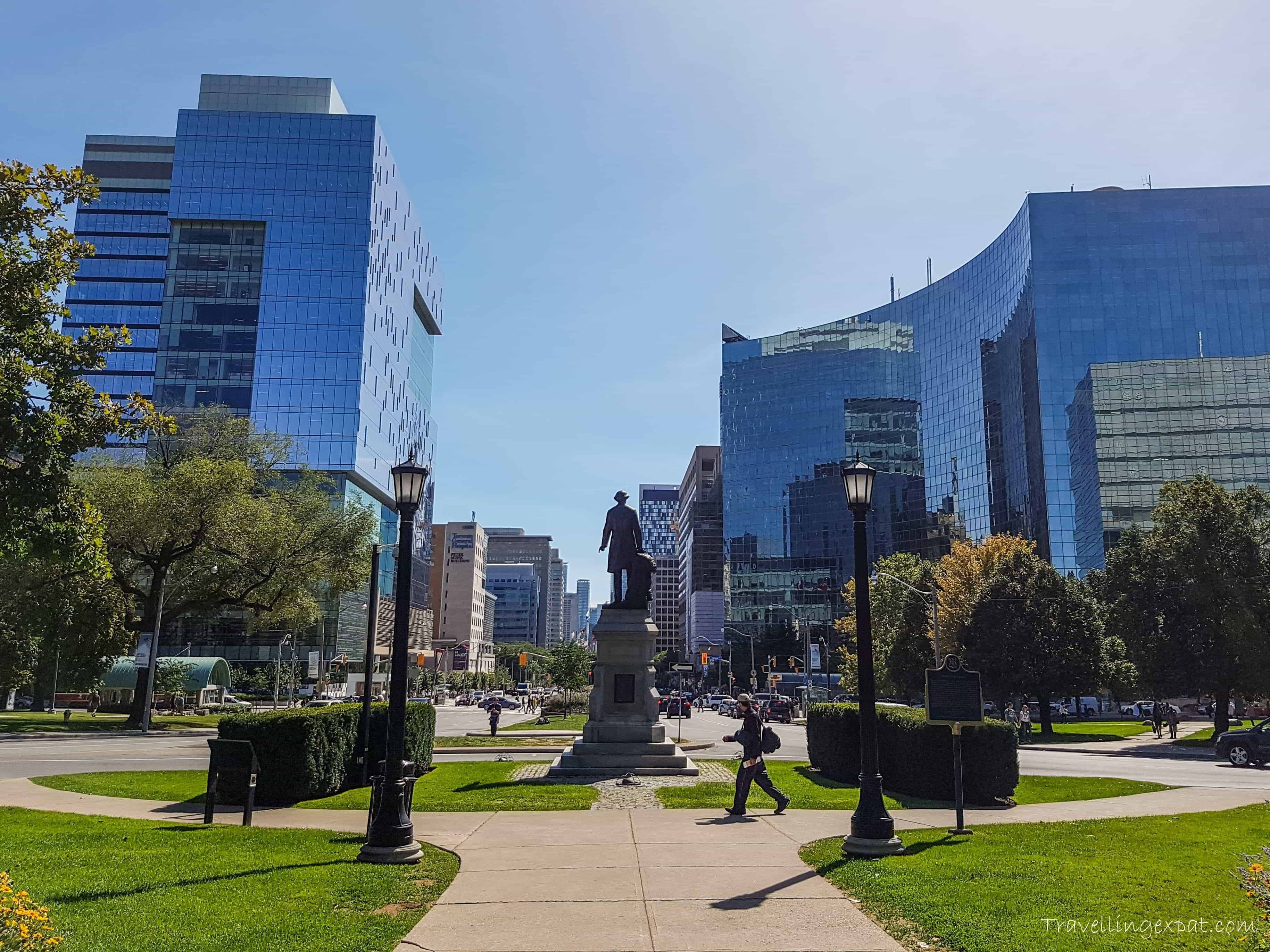 Toronto con il sole